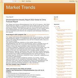 Market Trends: Ethylenediamine Industry Report 2022 Global & China Forecast Report