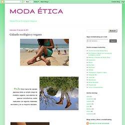 MODA ÉTICA: Calzado ecológico y vegano
