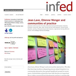 Jean Lave, Etienne Wenger and communities of practice