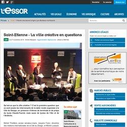 Saint-Etienne - La ville créative en questions