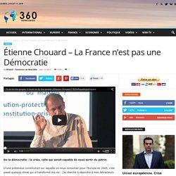 Étienne Chouard - La France n'est pas une Démocratie