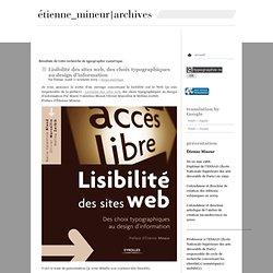 Etienne Mineur archives