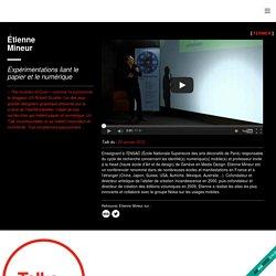 Étienne Mineur : TEDxMontpellier