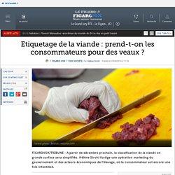 Etiquetage de la viande : prend-t-on les consommateurs pour des veaux ?