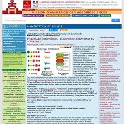 Etiquetage nutritionnel : clarifier un débat haut en couleurs !