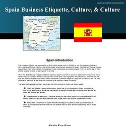 Spain - Cultural