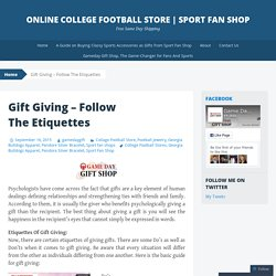 Gamedaygiftshop.com is an online shop for the football jewelry