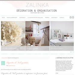 Étiquettes de Noël gratuites - zalinka pour organiser et décorer sa maison