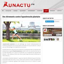 Des étirements contre l'aponévrosite plantaire - Runactu