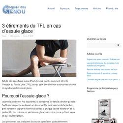 3 étirements du TFL en cas d'essuie glace -Soigner son genou