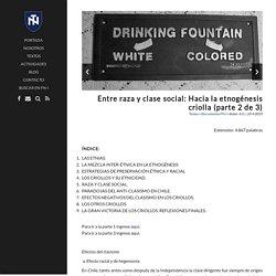 Entre raza y clase social: Hacia la etnogénesis criolla (parte 2 de 3) – Fuerza Nacional-Identitaria