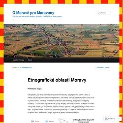 Etnografické oblasti Moravy