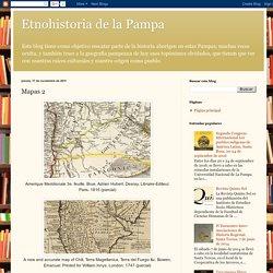 Etnohistoria de la Pampa: Mapas 2