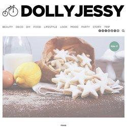 Etoiles aux amandes et zestes de citron - DollyjessyDollyjessy