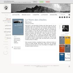Le Nom des étoiles - Pete Fromm - éditions Gallmeister