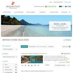 Hôtels 5 étoiles et Luxe à l'Ile Maurice
