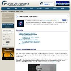 Les étoiles à neutrons - Univers-Astronomie