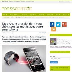 L'étonnant bracelet dont vous choisissez les motifs avec votre smartphone