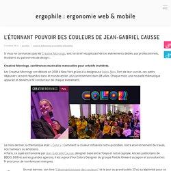 L'étonnant pouvoir des couleurs de Jean-Gabriel Causse – Ergophile : Ergonomie web
