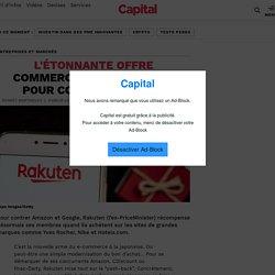 L'étonnante offre commerciale de Rakuten pour contrer Amazon