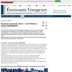 Concours nouvelle : Étonnants-Voyageurs