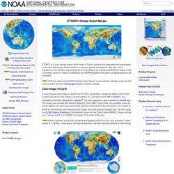NOAA - ETOPO1 Global Relief