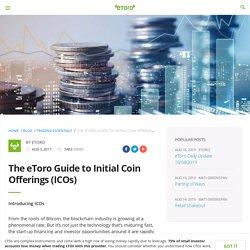 The eToro Guide to Initial Coin Offerings (ICOs) - eToro
