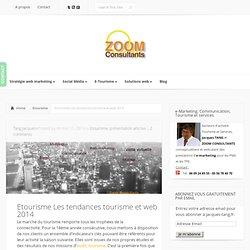 Etourisme Les tendances tourisme et web 2014