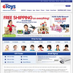 Find Kid's Toys, Video Games, Learning Toys, Books, Music Movies and More!