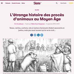 L'étrange histoire des procès d'animaux au Moyen Âge