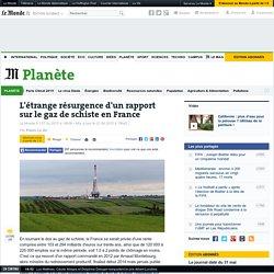 L'étrange résurgence d'un rapport sur le gaz de schiste en France