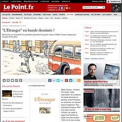 """""""L'Étranger"""" en bande dessinée !"""