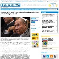 Comptes à l'étranger : le procès de Serge Dassault s'ouvre sur un débat procédural