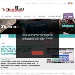 Traducmed Accueil migrants: un outil pour l'accueil des personnes étrangères allophones