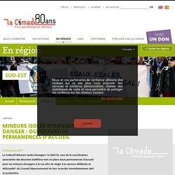 Mineurs Isolés Etrangers en danger : ouverture de permanences d'accueil