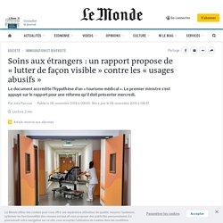 Le Monde, 6 nov 2019,«lutter de façon visible» contre les «usages abusifs»