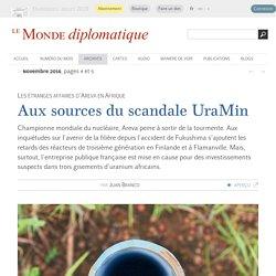 Les étranges affaires d'Areva en Afrique, par Juan Branco (Le Monde diplomatique, novembre 2016)