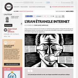 L'Iran étrangle Internet
