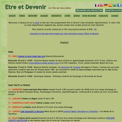 Etre et Devenir / Being and Becoming - Film et DVD
