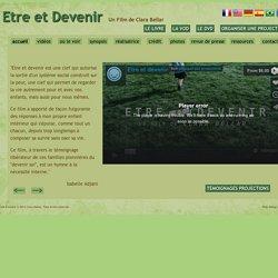 Etre et Devenir / Being and Becoming - Film et DVD
