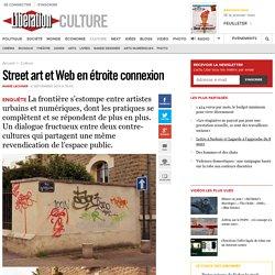 Street art et Web en étroite connexion
