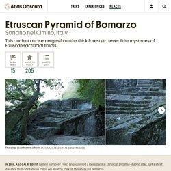 Etruscan Pyramid of Bomarzo – Soriano nel Cimino, Italy