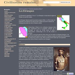 Les Etrusques