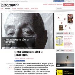 Ettore Sottsass : le génie et l'incertitude