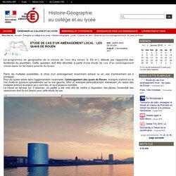 Etude de cas d'un aménagement local : les quais de Rouen