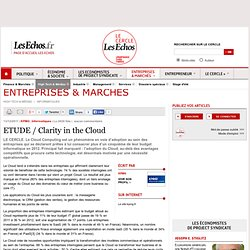 ETUDE / Clarity in the Cloud