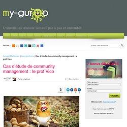 Cas d'étude de community management : le prof Vico - My Guroo