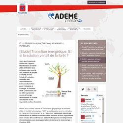 Etude ADEME - Disponibilité de la biomasse