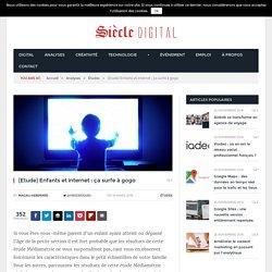 [Etude] Enfants et internet : ça surfe à gogo