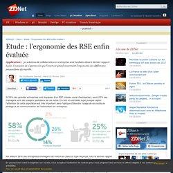 Etude : l'ergonomie des RSE enfin évaluée - ZDNet